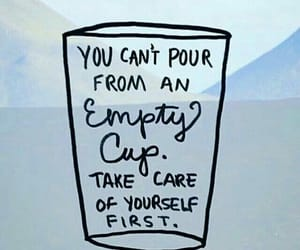 quotes, art, and cup image