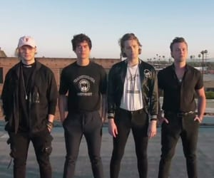 youngblood, luke hemmings, and 5sos image