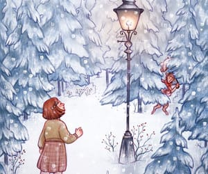 art, books, and chronicles of narnia image