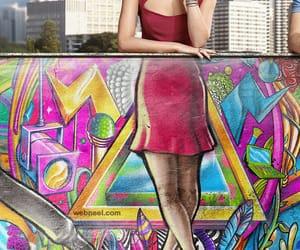 graphic design, street art, and advertising idea image