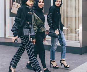 fashion, style, and hijab image
