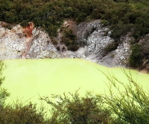 nature, new zealand, and volcanic image