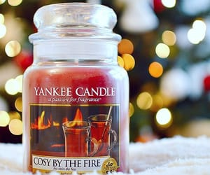 candle and winter image
