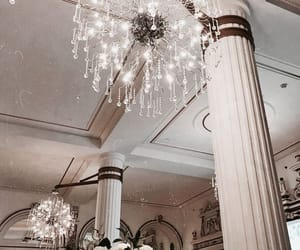 architecture, decor, and chandelier image