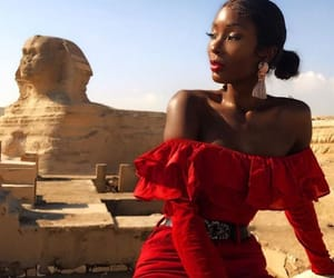black, egypt, and fashion image