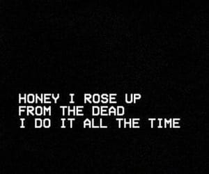 black, dead, and Lyrics image