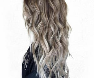 hairstyle, greyhair, and haircolour image