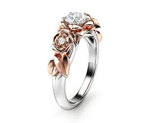 etsy, engagementring, and unique ring image
