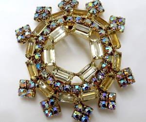 etsy, vintage jewelry, and vintage brooch image