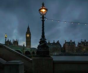 lights, night, and skyline image
