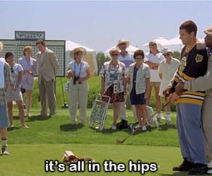 adam sandler, gif, and happy gilmore image