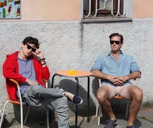 call me by your name, timothee chalamet, and armie hammer image