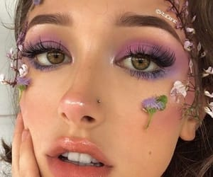 flowers and makeup image