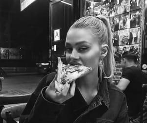 pizza, nicola peltz, and blonde image