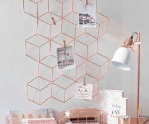 rose gold, decoration, and home image