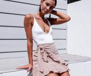 blouse, skirt, and fashion image