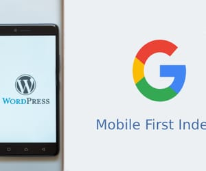 wordpress developer, wordpress seo, and mobile first indexing image