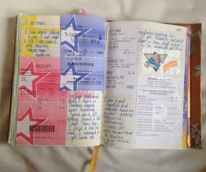art journal, art journaling, and christmas image