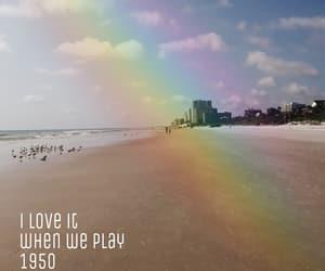 1950, beach, and edit image