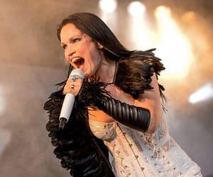 black, singer, and tarja turunen image