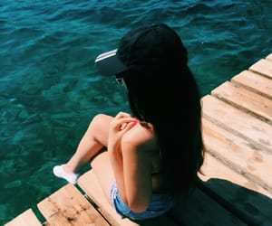 girl, lizzi mcdiarmid, and summer image