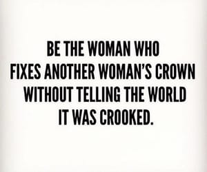 quotes, crown, and empowerment image