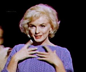 gif, Marilyn Monroe, and let's make love image