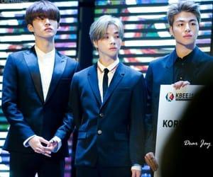 bi, Ikon, and kpop image