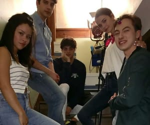 maia mitchell, david lambert, and noah centineo image