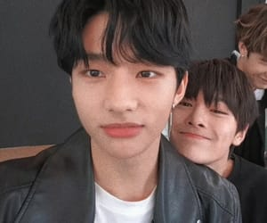 hyunjin, jeongin, and stray kids image