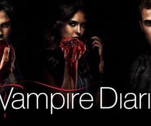 cw, elena, and vampire image