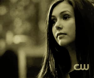gif, Nina Dobrev, and the vampire diaries image