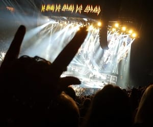 concert, rocknroll, and def leppard image