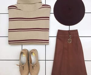 french, korean, and outfits image