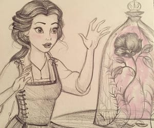 art, beauty and the beast, and black and white image