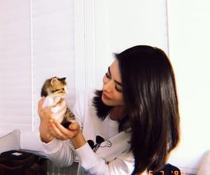 cat, lovely, and miranda cosgrove image