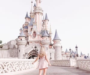 blonde hair, castle, and freddy my love image