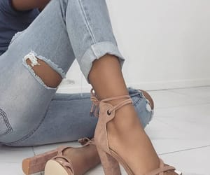 fashion, high heels, and girls image