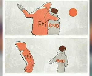 sadness, the end, and friends image