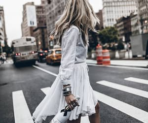 champagne, new york, and street style image