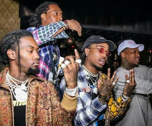 offset, squad, and migos image
