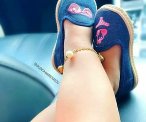 baby, feet, and anklets image