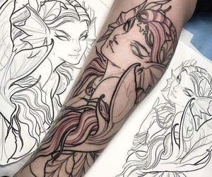 tattos, tinta negra, and ideas para tatuajes image