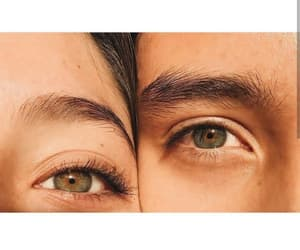 aesthetic, eyes, and couples image