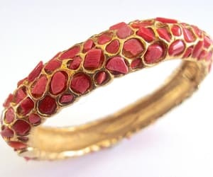 bracelet, genuine, and gold plated image