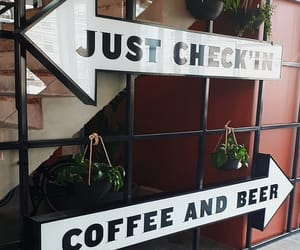 cafe, check, and coffee image