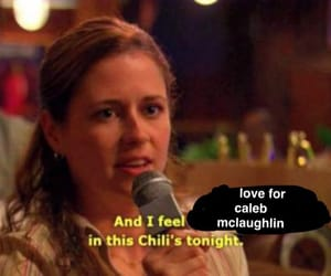 the office, chili, and funny image