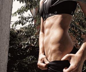 abs, body, and gym image