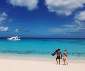 beach, body, and boyfriend image
