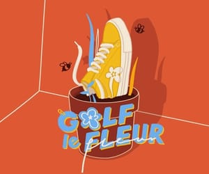 wallpaper, tyler the creator, and golf le fleur image